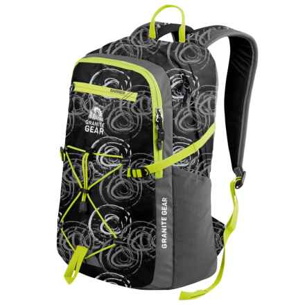 Granite Gear Portage Backpack in Circolo/Flint/Neolime - Closeouts