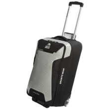 "Granite Gear Reticu-Lite Rolling Upright Suitcase - 30"" in Black/Flint - Closeouts"