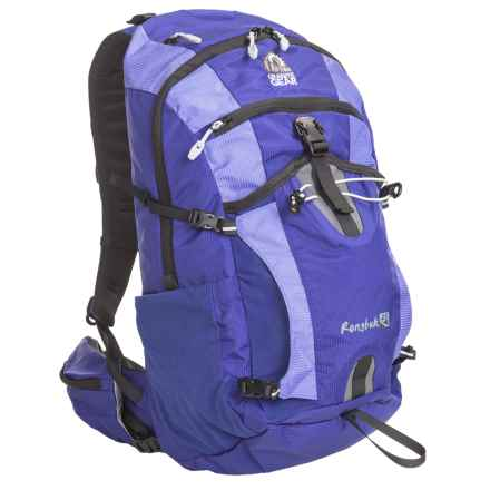 Granite Gear Rongbuk 28L Backpack in Biscayne Blue/Purblu/Chromium - Closeouts