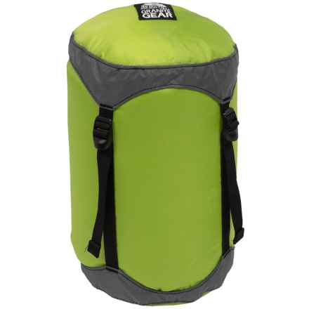 Granite Gear Round Rock Compression Stuff Sack - 11L, Small in Lime/Grey - Closeouts