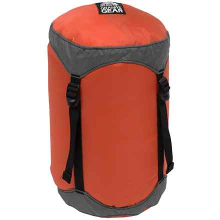 Granite Gear Round Rock Compression Stuff Sack - 11L, Small in Orange - Closeouts