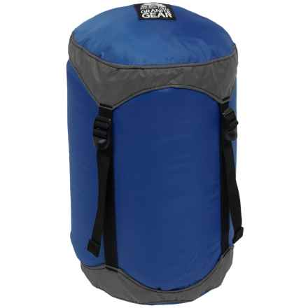 Granite Gear Round Rock Compression Stuff Sack - 16L, Medium in Blue/Grey - Closeouts