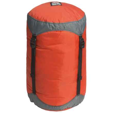 Granite Gear Round Rock Compression Stuff Sack - 22L in Orange/Grey - Closeouts