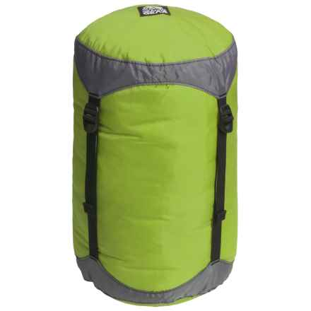 Granite Gear Round Rock Solid Compression Stuff Sack - 31L in Lime/Grey - Closeouts