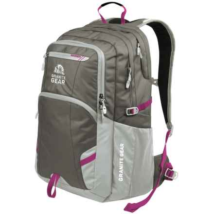 Granite Gear Sawtooth Backpack in Flint/Chromium/Verbena - Closeouts