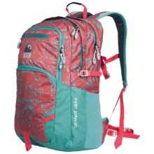 Granite Gear Sawtooth Backpack in Linear Chaos/Stratos/Chromium - Closeouts