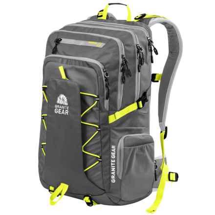 Granite Gear Sonju Backpack in Flint/Chromium/Neolime - Closeouts