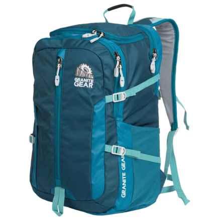 Granite Gear Splitrock Backpack in Basalt Blue/Bleumine/Stratos - Closeouts