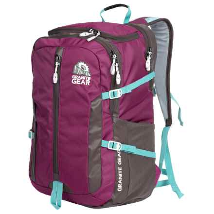Granite Gear Splitrock Backpack in Verbena/Flint/Stratos - Closeouts