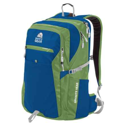 Granite Gear Talus 33L Backpack in Enamel Blue/Moss/Chromium - Closeouts