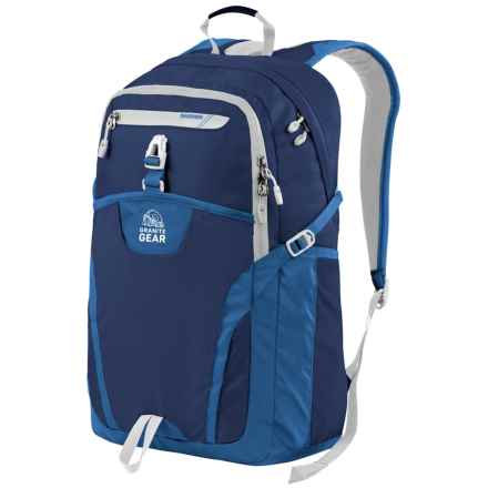 Granite Gear Voyageurs 29L Backpack in Midnight Blue/Enamel Blue/Chromium - Closeouts