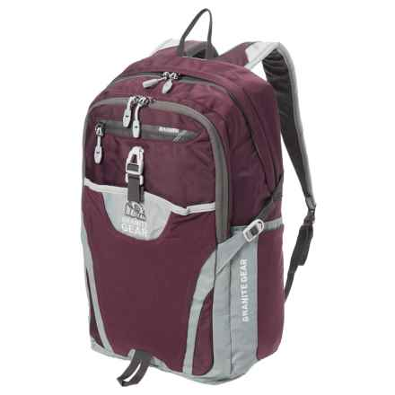 Granite Gear Voyageurs Backpack - 29L in Gooseberry/Chromium/Flint - Closeouts