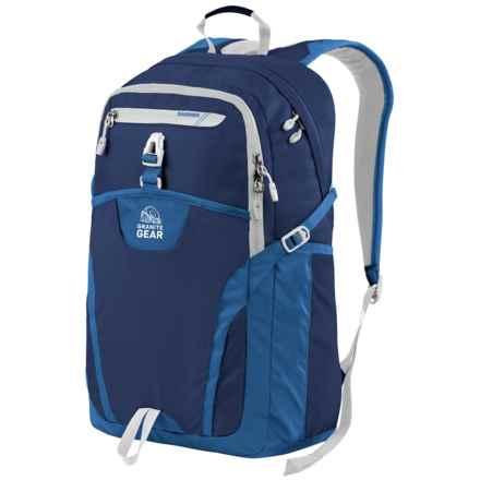 Granite Gear Voyageurs Backpack in Midnight Blue/Enamel Blue/Chromium - Closeouts