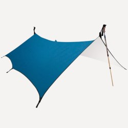 Granite Gear White Lightnin Shelter - 8x10' in Blueberry/Cloud