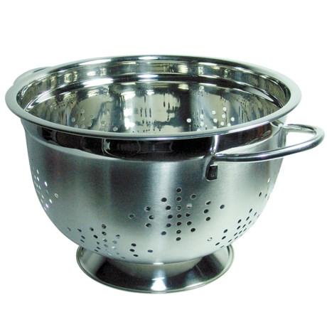 Grant Howard Elegant Stainless Steel Colander - 10""