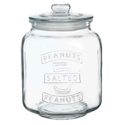 Grant Howard Jumbo Peanut Jar - 7L in Clear - Closeouts
