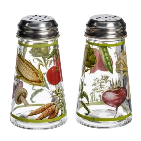 Grant Howard Veggies Salt and Pepper Shaker Set in Veggies