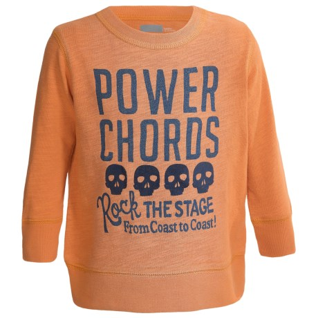 Graphic Sweatshirt - Cotton (For Infant and Toddler Boys) in Orange