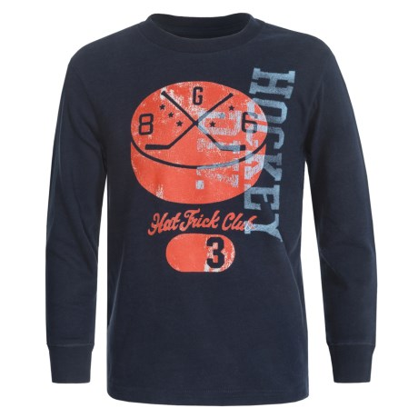 Graphic T Shirt Long Sleeve (For Big Boys)