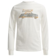 Graphic T-Shirt - Long Sleeve (For Big Boys) in White Surf Shop - 2nds