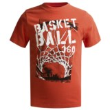 Graphic T-Shirt - Short Sleeve (For Boys)
