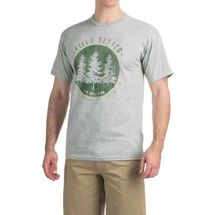 Graphic T-Shirt - Short Sleeve (For Men) in Field Tested/Gray Heather - 2nds
