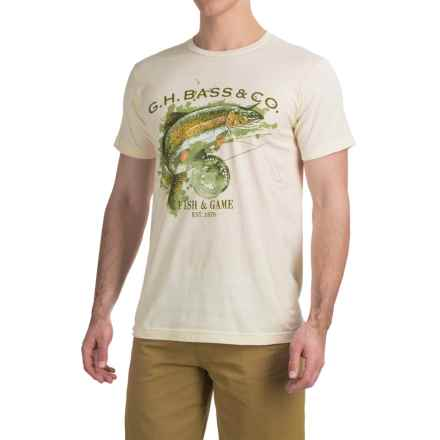 Graphic T-Shirt - Short Sleeve (For Men) in Fish & Game/Natural - 2nds