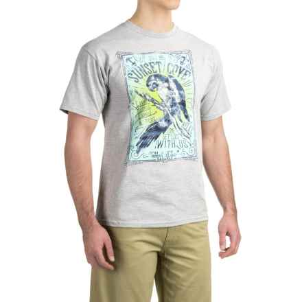 Graphic T-Shirt - Short Sleeve (For Men) in Sunset Cove/Gray Heather - 2nds