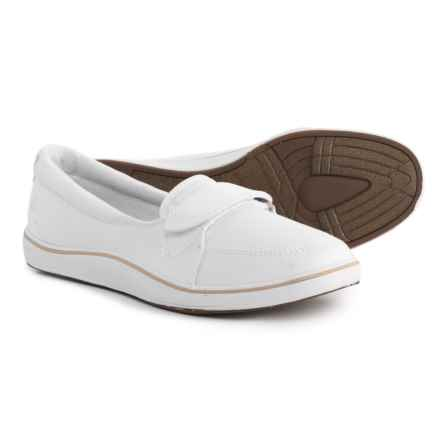 Grasshoppers Shelborne Shoes - Slip-Ons (For Women) in White - Closeouts