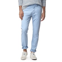 Grayers Newport Chino Pants - Slim Fit (For Men) in Sky Blue - Closeouts