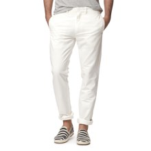 Grayers Newport Chino Pants - Slim Fit (For Men) in White - Closeouts