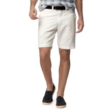 "Grayers Newport Club Shorts - 9"" (For Men) in White - Closeouts"