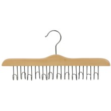 Great American Hanger Co. Belt Hanger - 12 Belt Capacity, Chrome in Natural - Overstock