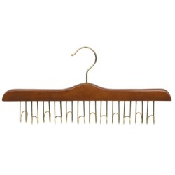 Great American Hanger Co. Belt Hanger - 12 Belt Capacity, Chrome in Natural
