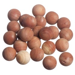 Great American Hanger Co. Cedar Cubes or Balls - Set of 24 in Cedar