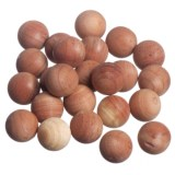 Great American Hanger Co. Cedar Freshener Cubes or Balls - Set of 24