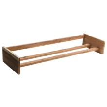Great American Hanger Co. Cedar Shoe Rack - Stackable in Cedar - Closeouts