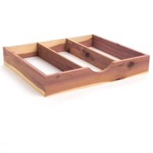 Great American Hanger Co. Cedar Tie and Accessory Box in Cedar - Overstock