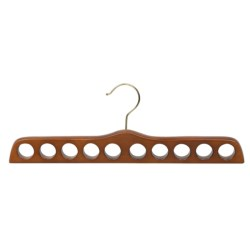 Great American Hanger Co. Scarf Hanger in Walnut