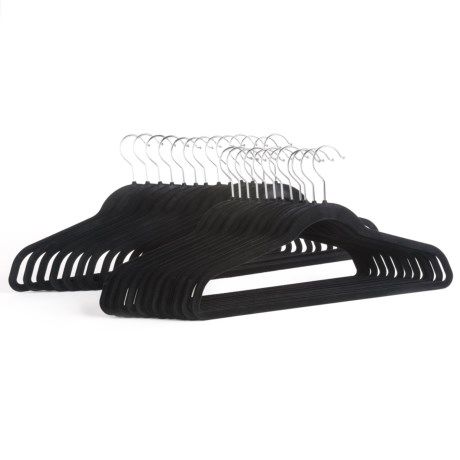 Great American Hanger Co. Velvet Slimline Hangers - 25-Pack