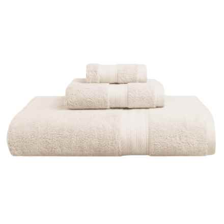"Great Bay Holbrook Bath Towel - 30x56"" in Ivory - Closeouts"