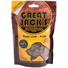 Great Jack's Liver Training Treats - 7 oz. in Liver/Foie - Closeouts
