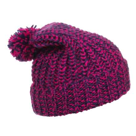 Great Northern Fashion Knit Hat (For Girls) in Pink/Purple - Closeouts