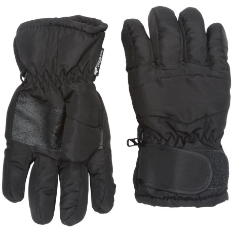Great Northern Gloves - Insulated, Small-Medium (For Kids) in Black