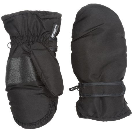 Great Northern Mittens - Insulated (For Kids) in Black