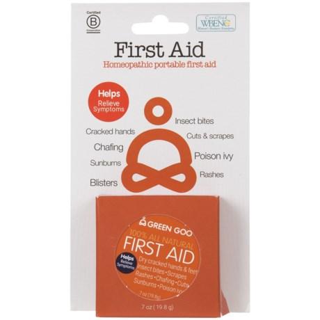 Green Goo First Aid Cream Travel Tin in See Photo