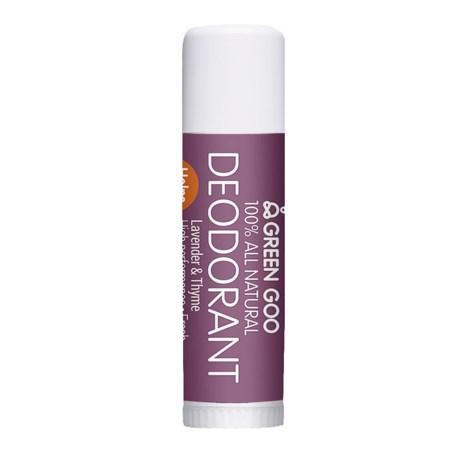 Green Goo Lavender and Thyme Deodorant Travel Jumbo Stick - 0.6 oz. in See Photo