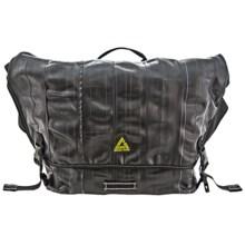 Green Guru Cycler Messenger Bag in Black - Closeouts