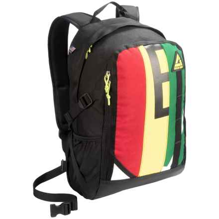 Green Guru Cyclopath Backpack in Multi - Closeouts