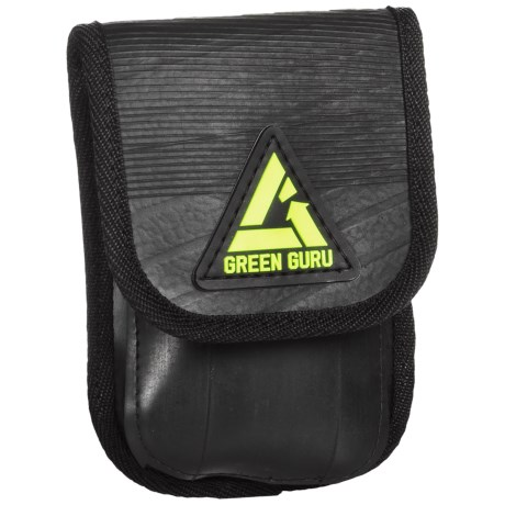 Green Guru Holster Cell Phone Case - Rubber in Black